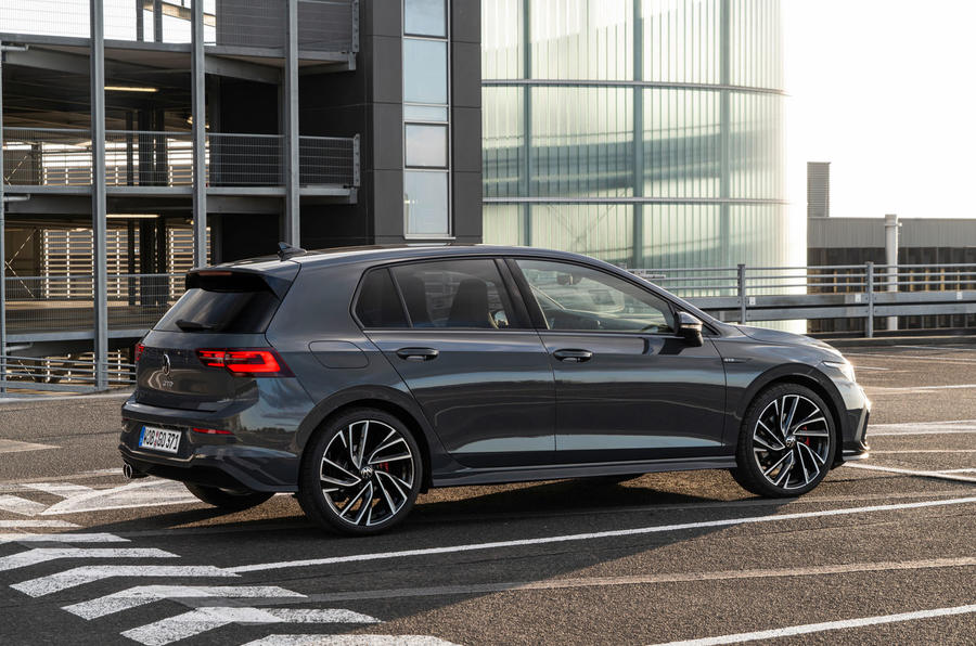 Volkswagen Golf GTD 2020 first drive review - static rear