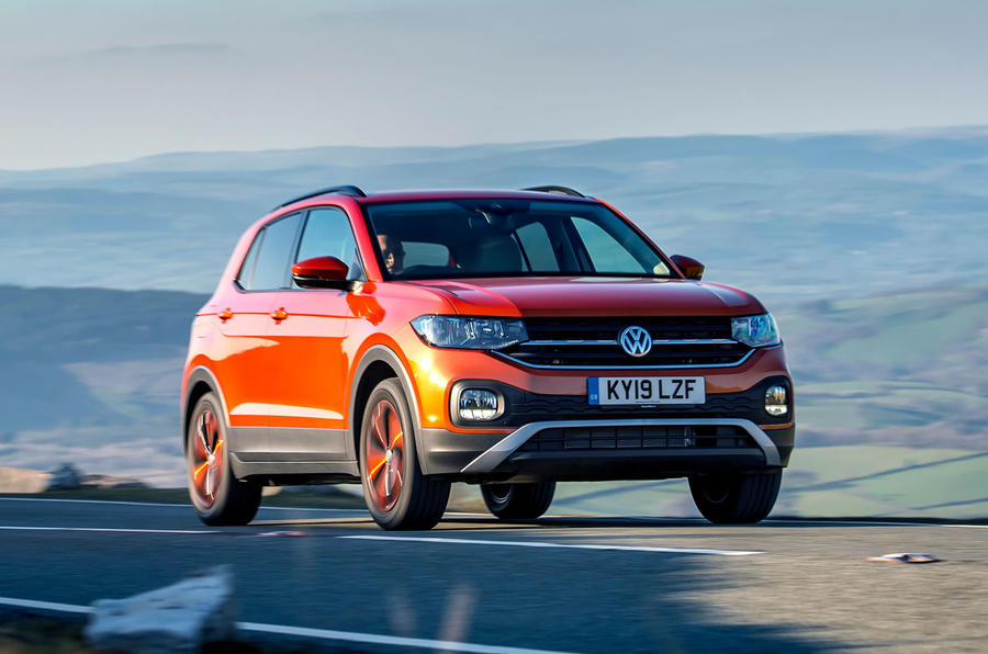 Volkswagen T-Cross 2019 UK first drive review - on the road front