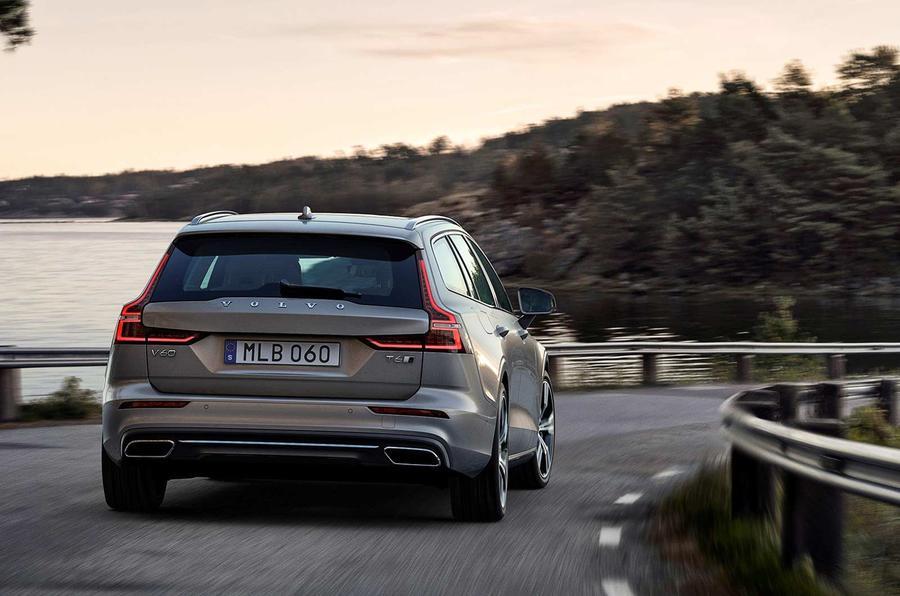 Volvo V60 2018 review cornering