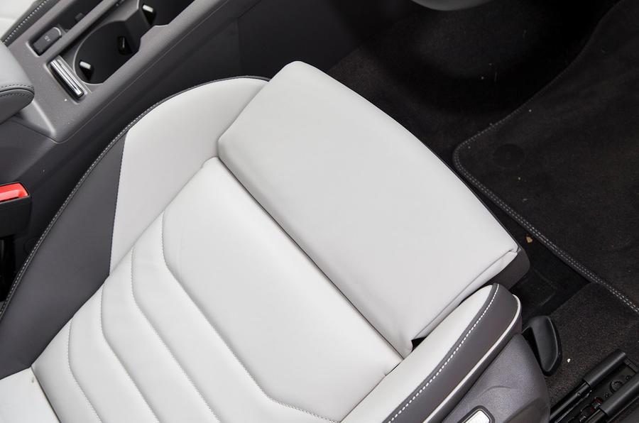 Volkswagen Arteon 2018 long-term review front seats
