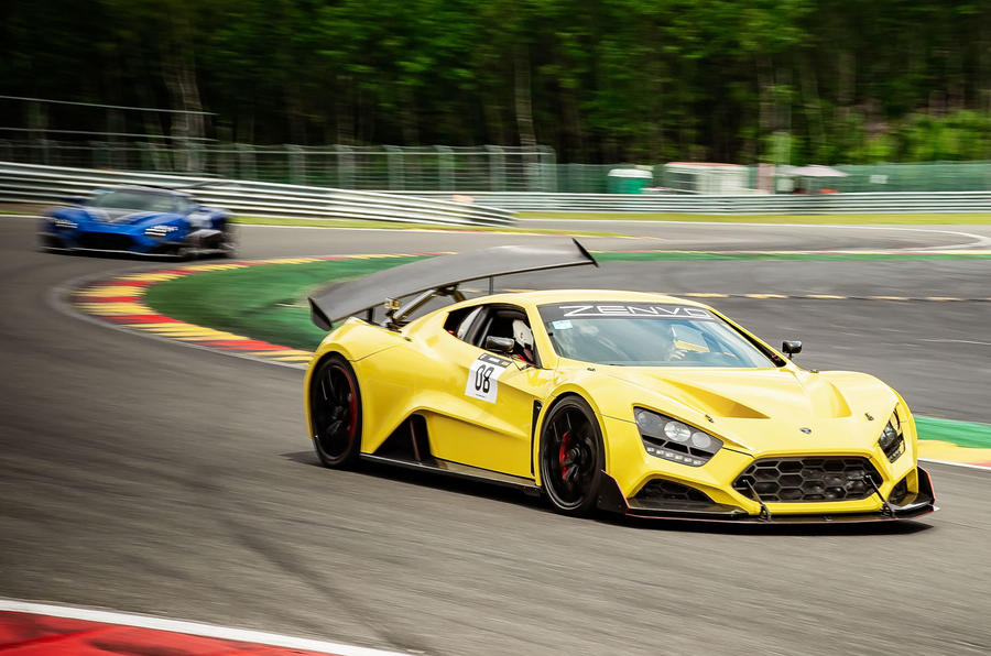 Zenvo TSR-S 2019 first drive review - circuit front