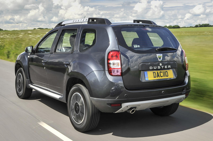 dacia duster facelift revealed at goodwood autocar. Black Bedroom Furniture Sets. Home Design Ideas
