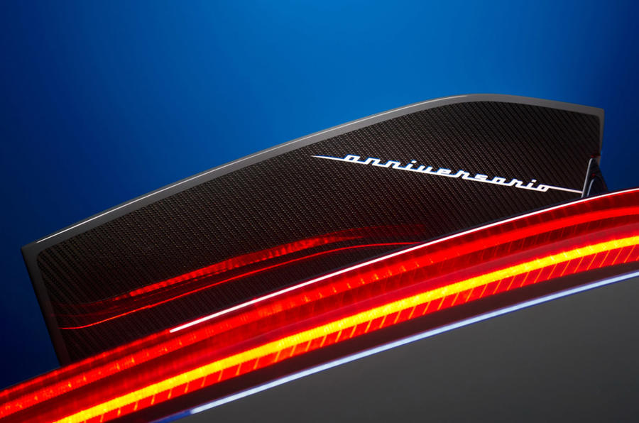 Pininfarina Battista Anniversario 2020 - light strip