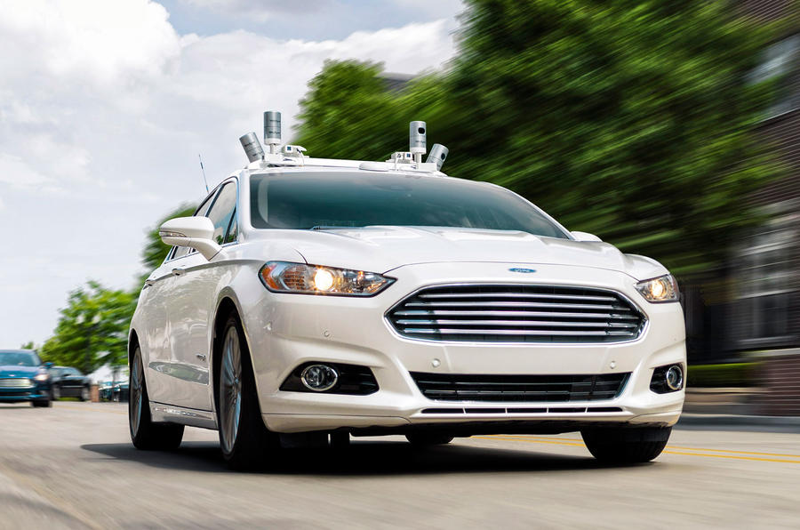 Ford to test autonomous technology in UK next year
