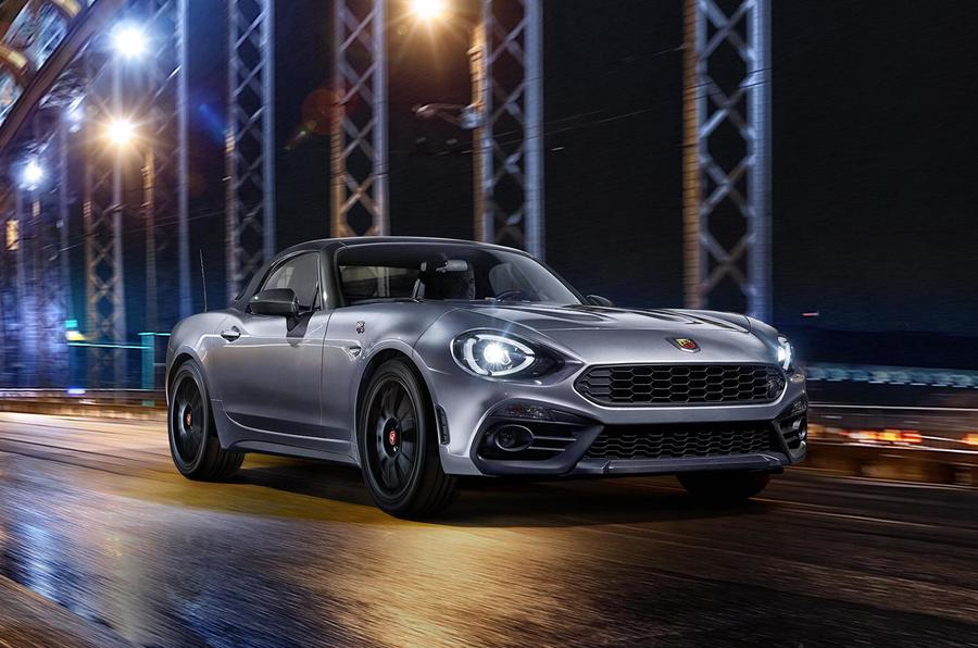 Abarth 124 GT leaves its carbon-fiber hat on in Geneva
