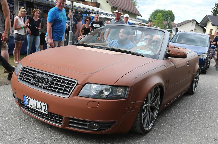 Wörthersee Treffen 2017 Leather Audi A4 S4