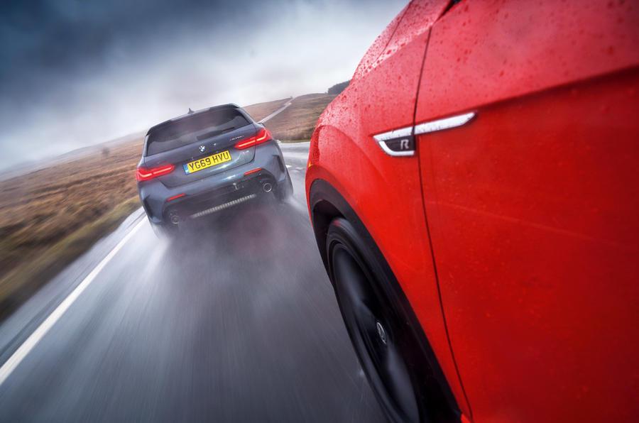 BMW M135i - tracking rear