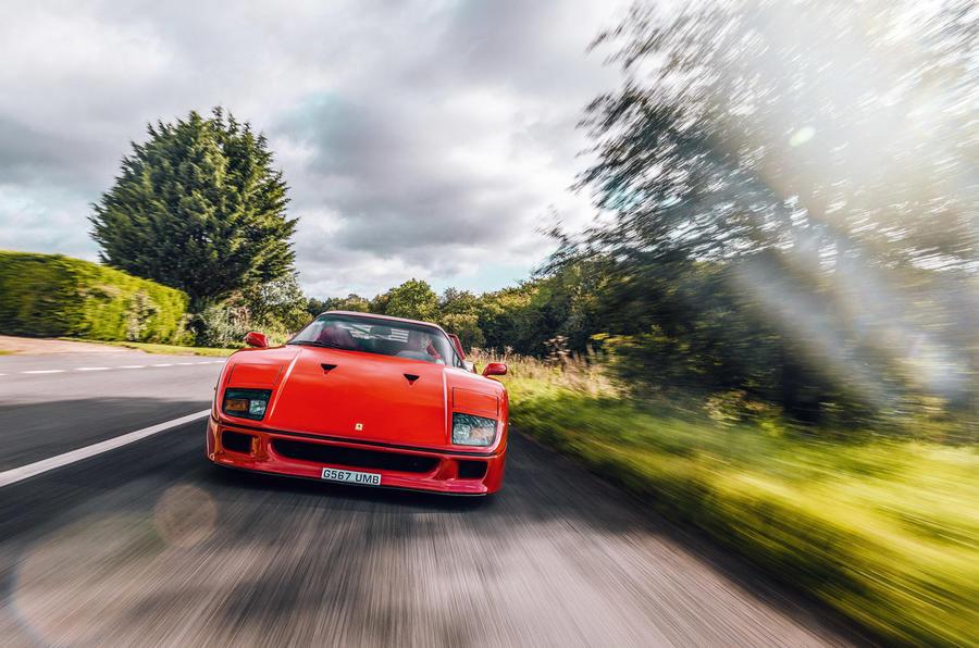 Ferrari F40 - tracking front