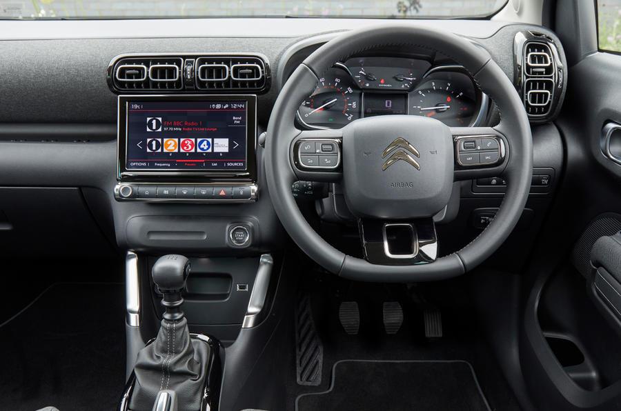 12a Citroen C3 Aircross 2021 UE FD tableau de bord auto