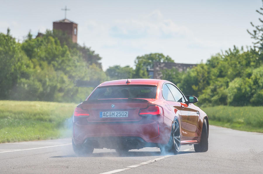 AC Schnitzer ACS2 Sport 2019 first drive review - drift rear