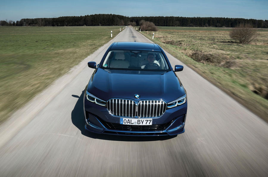Alpina B7 2019 first drive review - on the road nose