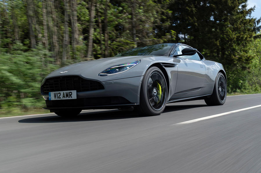 Aston Martin DB11 AMR 2018 review on the road