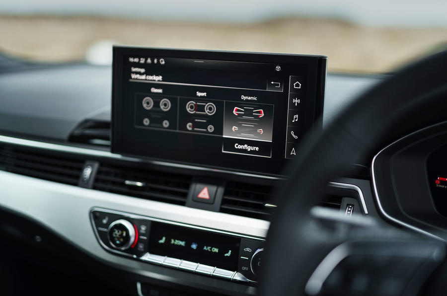 Audi A5 Coupe 2020 UK first drive review - infotainment