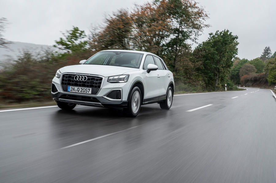 Audi Q2 2020 first drive review - on the road front