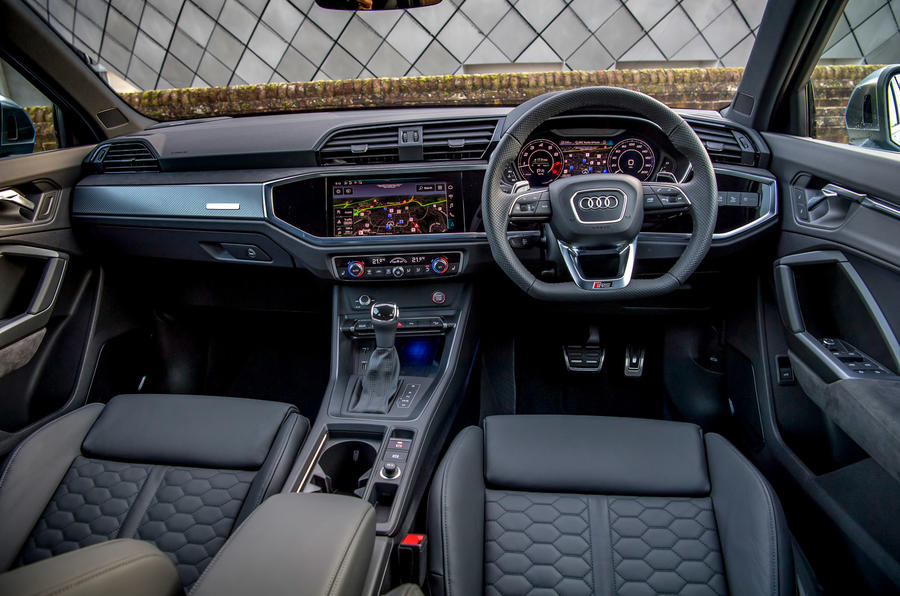 Audi RS Q3 Sportback 2019 UK first drive review - dashboard