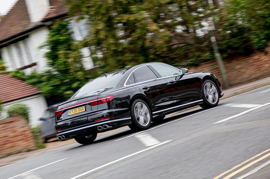 Audi S8 2020 : premier bilan de conduite au Royaume-Uni - sur la route du retour