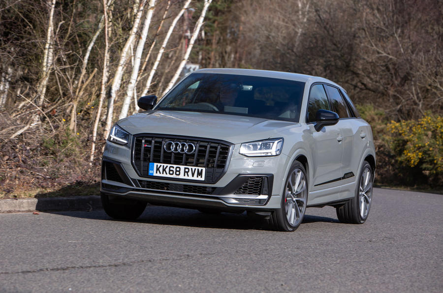 Audi SQ2 2019 UK first drive review - on the road front