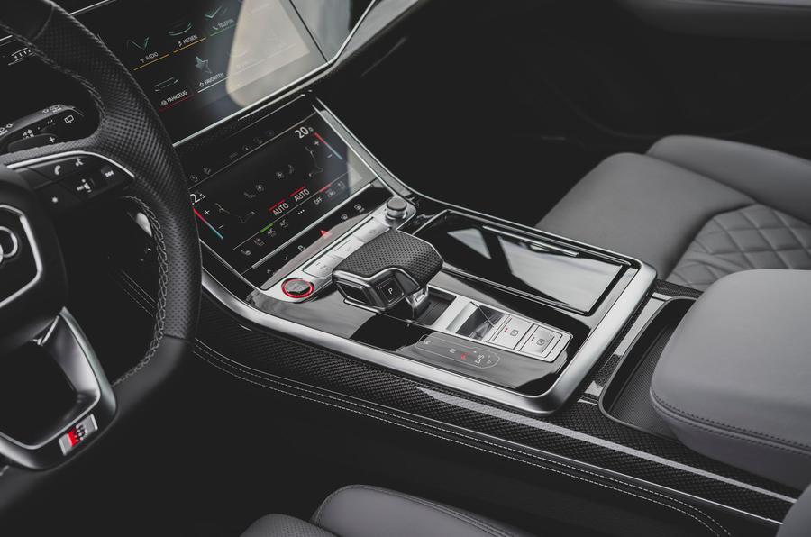 Audi SQ7 2020 : premier bilan de conduite - console centrale