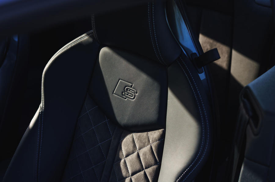 Audi TT Coupe 2019 UK first drive review - seat detail