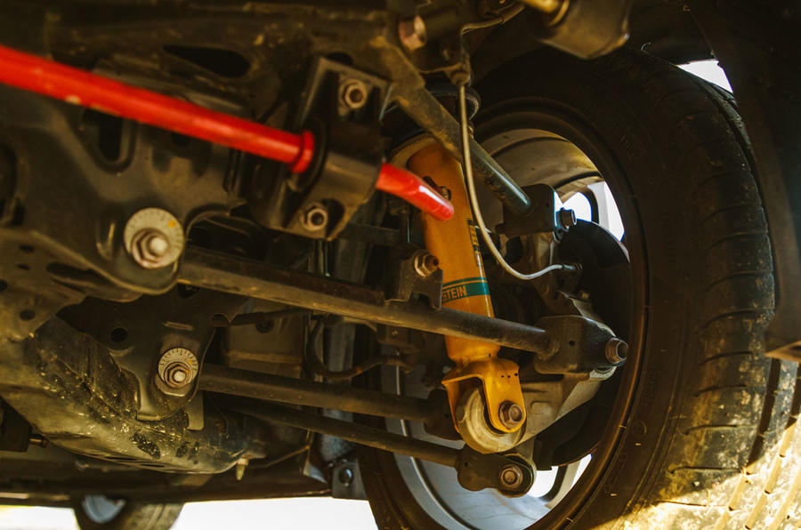BBR GTI Mazda MX-5 Super 220 2020 UK first drive review - suspension