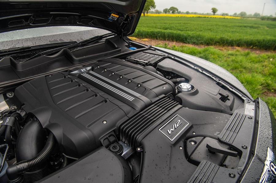 Bentley Bentayga Speed 2019 UK first drive review - engine