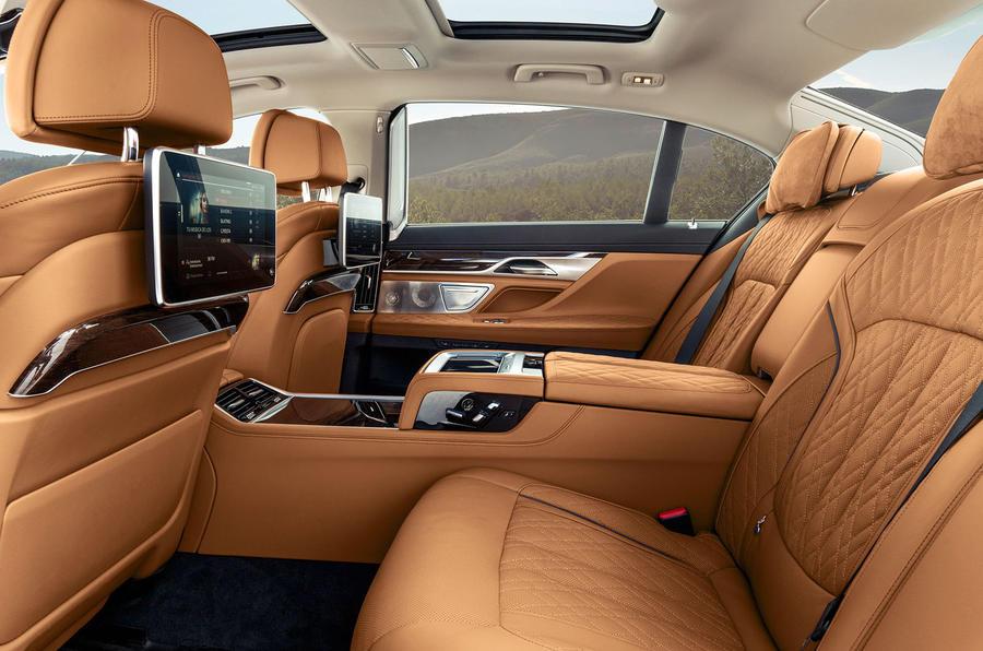 BMW 7 Series 750Li 2019 first drive review - rear seats