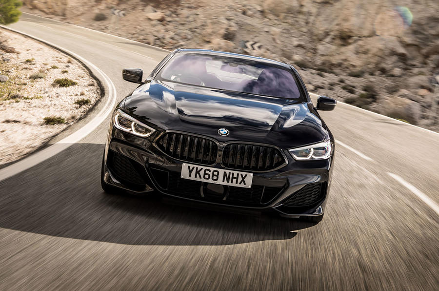 BMW 840d 2019 first drive review - on the road nose