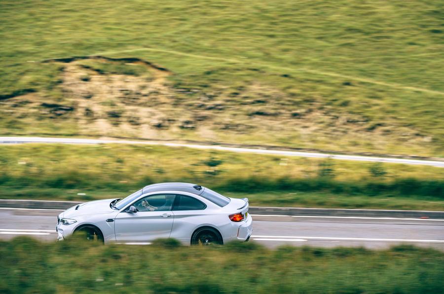 BMW M2 CS - hero side