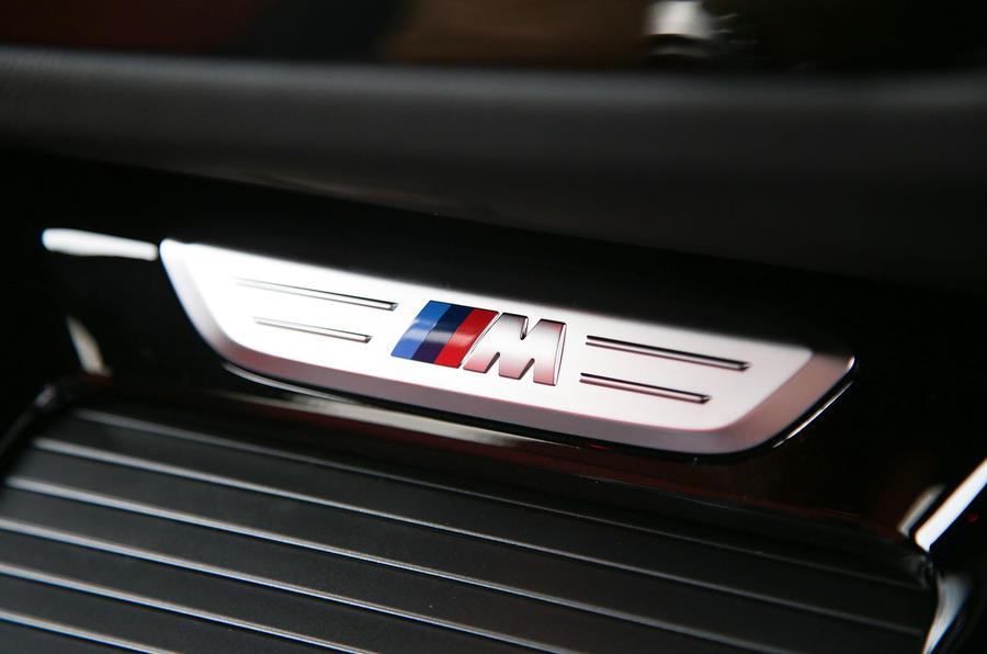 BMW X3 M40i 2018 UK review interior detail