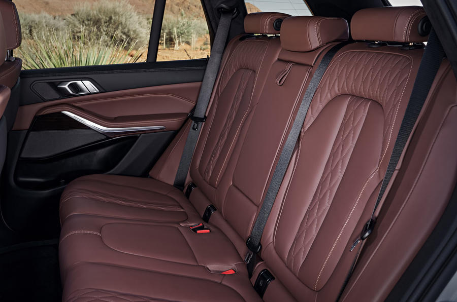 BMW X5 2019 first drive review rear seats