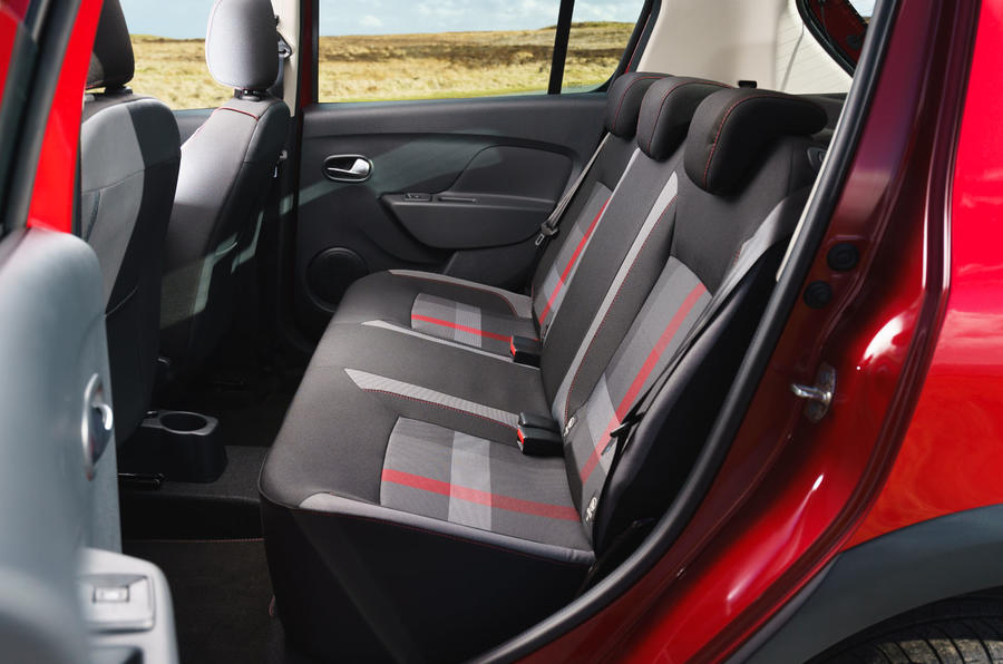Dacia Sandero Stepway Techroad 2019 first drive review - rear seats