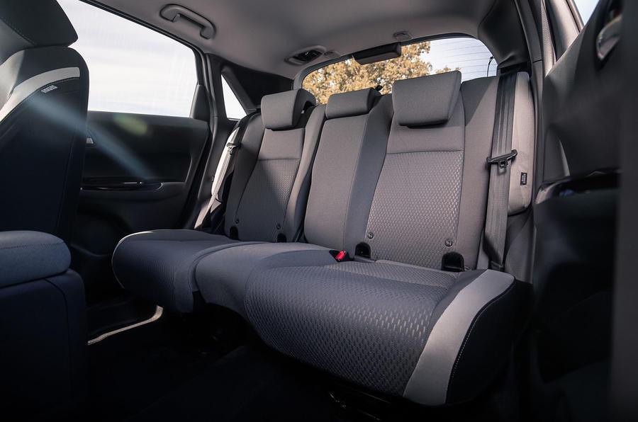 Honda Jazz Crosstar 2020 UK first drive review - rear seats
