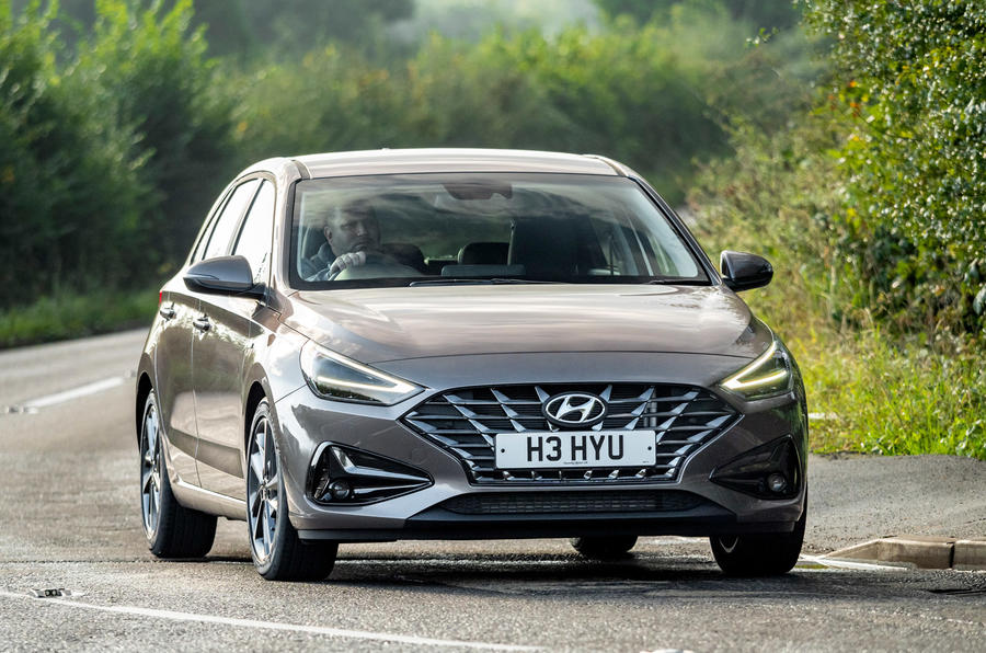 Hyundai i30 2020 UK first drive review - on the road front