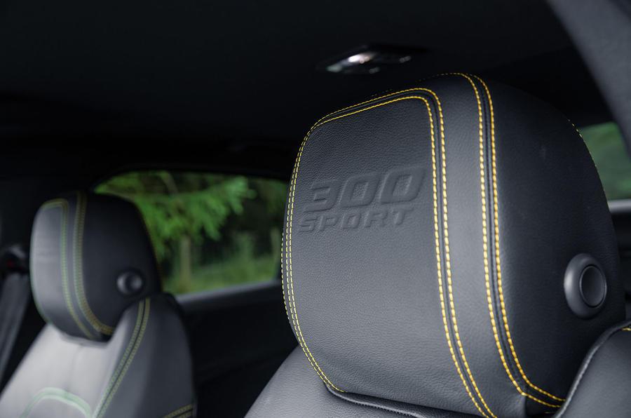 Jaguar XE 300 Sport 2018 UK first drive review seats