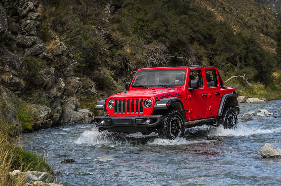 Jeep Wrangler (JL) Unlimited Rubicon 2018 review water front