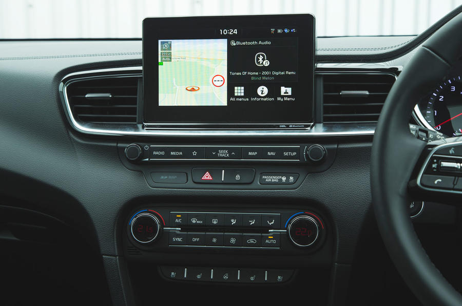 Kia Ceed 2018 long-term review - infotainment