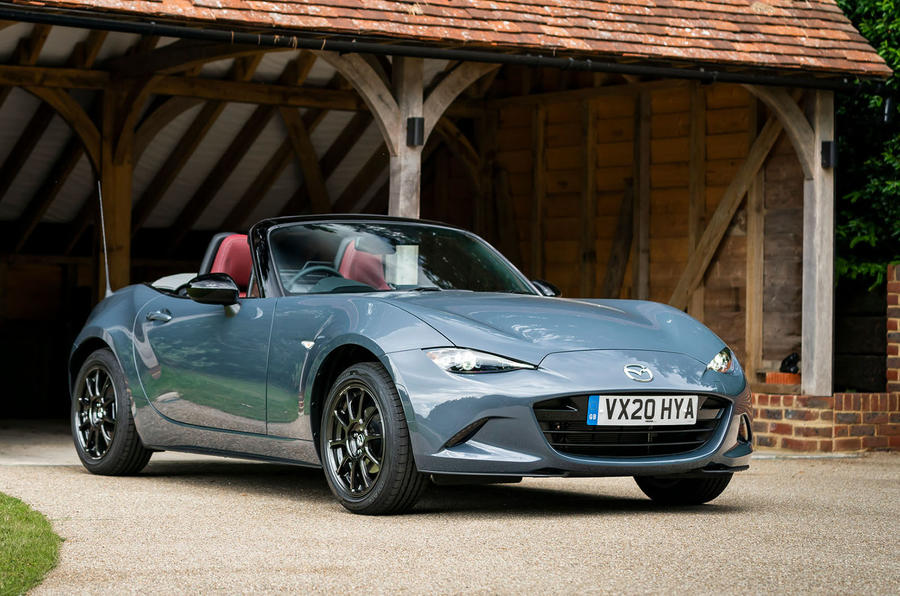 Mazda MX-5 1.5 R-Sport 2020 UK first drive review - static