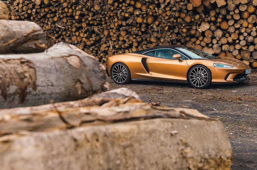 McLaren GT 2019 UK first drive review - static