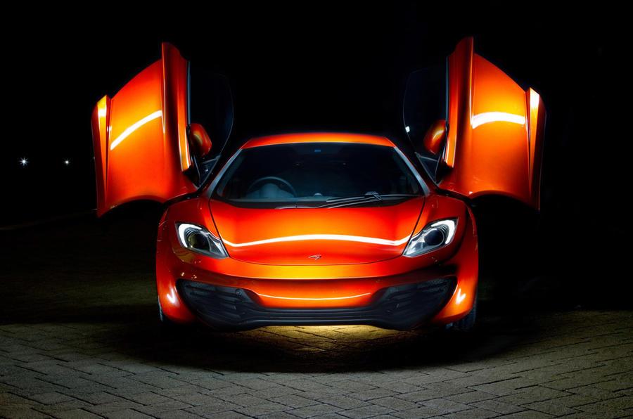 McLaren MP4 12C - front