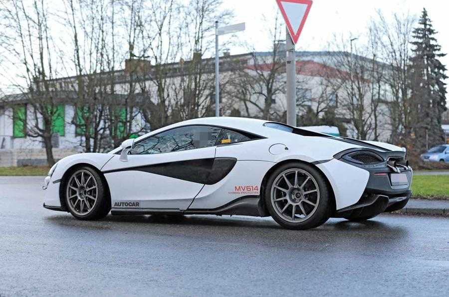 McLaren Sports Series Hybrid prototype  side