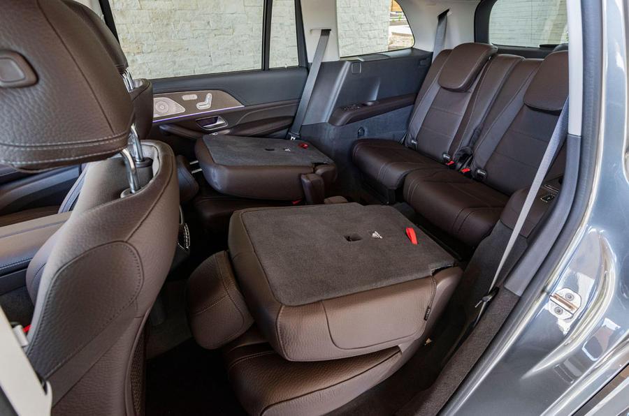 Mercedes-Benz GLS 400D 2019 first drive review - third row seats