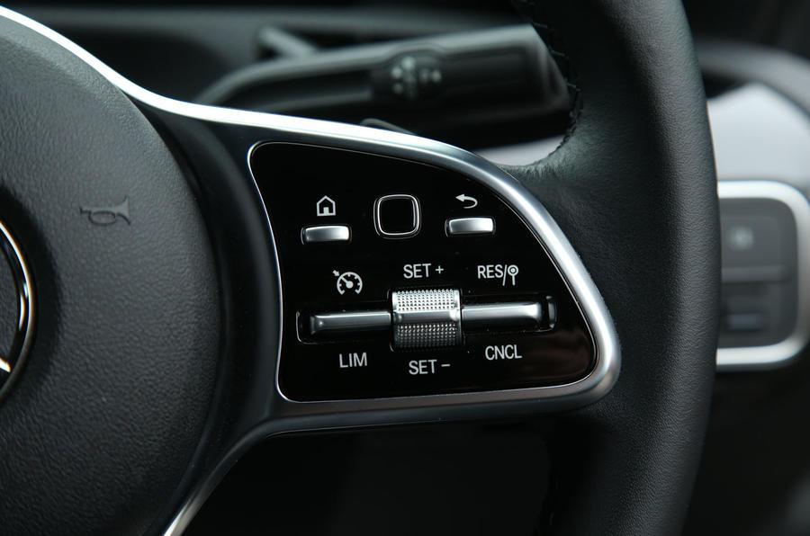 Mercedes-Benz A-Class 2018 long-term review - cruise controls