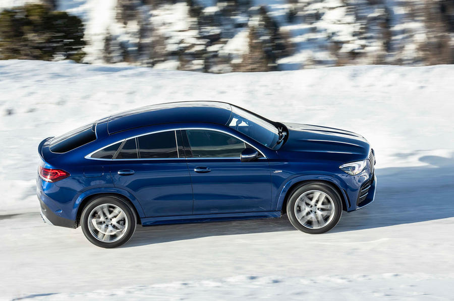 Mercedes-AMG GLE 53 2020 first drive review - on the road side