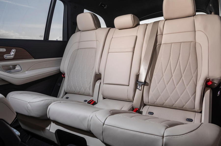 Mercedes-AMG GLS 63 2020 first drive review - middle row seats