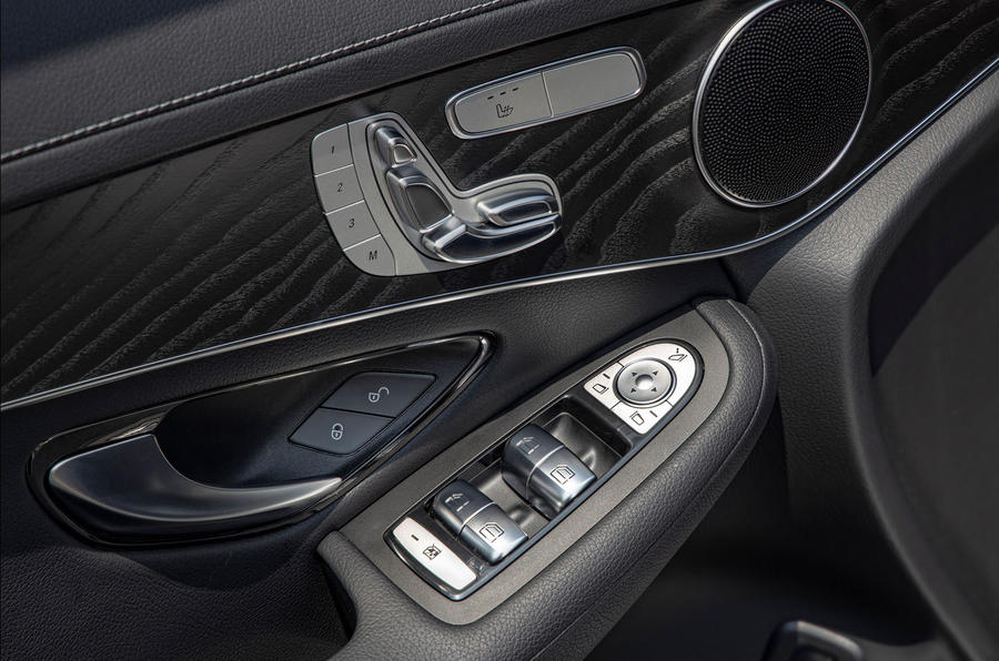 Mercedes-Benz GLC F-Cell 2019 first drive review - door cards