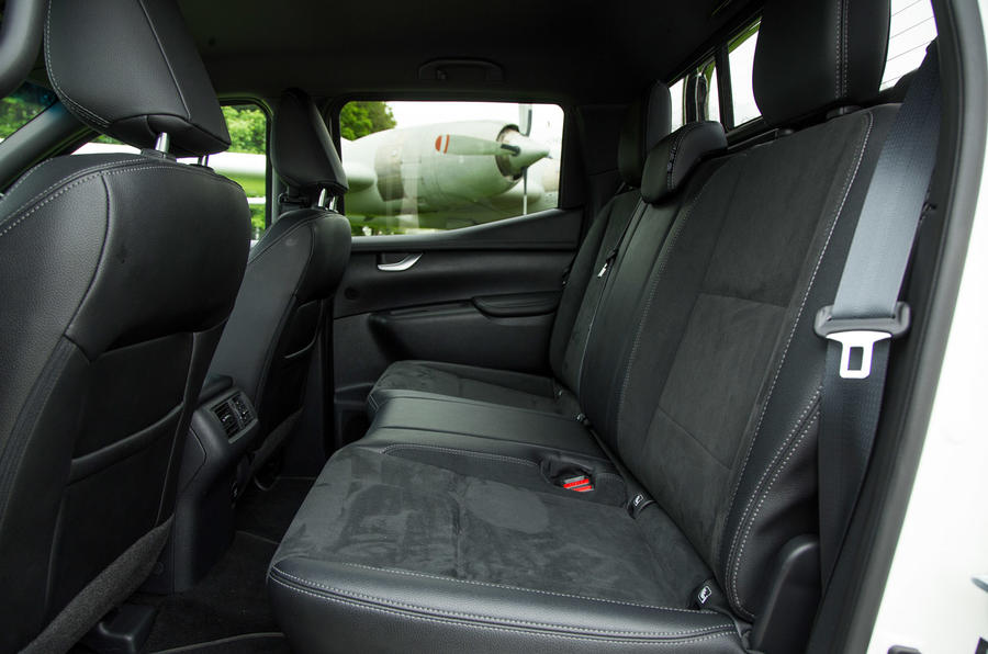 Mercedes-Benz X-Class longterm review rear seats