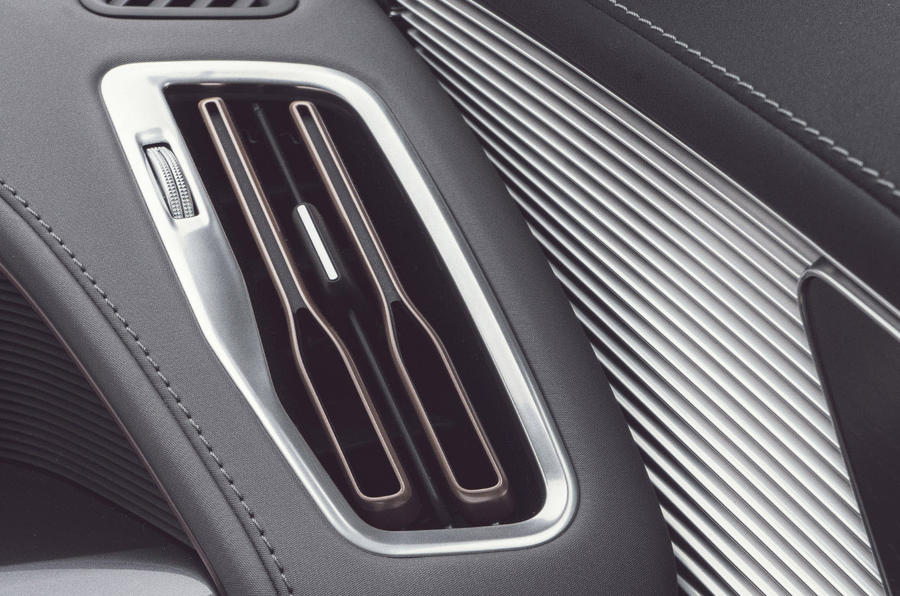 Mercedes-Benz EQC 400 2019 UK first drive review - air vents