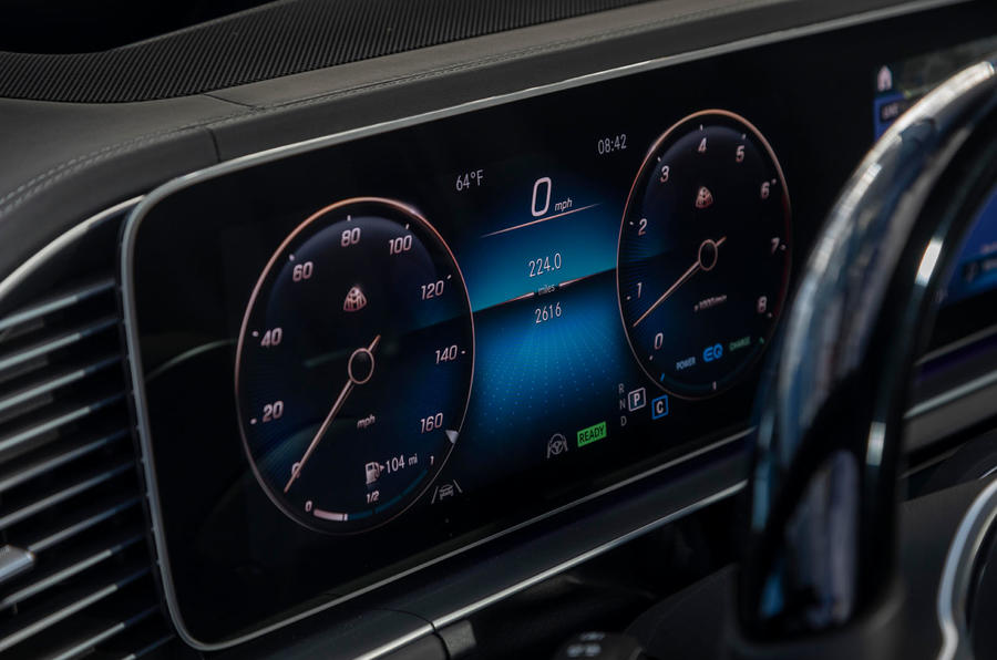 Mercedes-Maybach GLS 600 2020 first drive review - instruments