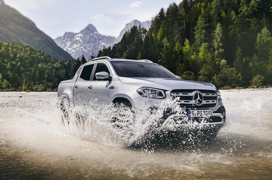 Mercedes-Benz X-Class X350d 2018 first drive review water front