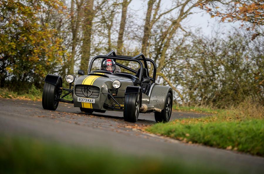 13 MK Indy Hayabusa 2021 Premier examen de conduite au Royaume-Uni